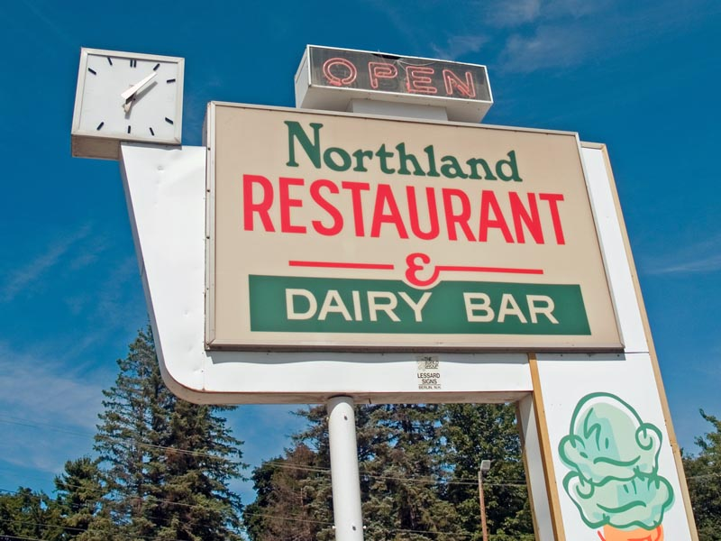 Northland Dairy Bar and Restaurant Logo
